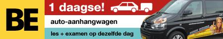 banner be rijbewijs