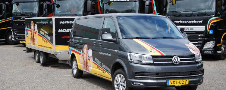 Nieuwste BE bus